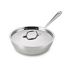 All-Clad Stainless Steel 3-Quart Covered Saucier