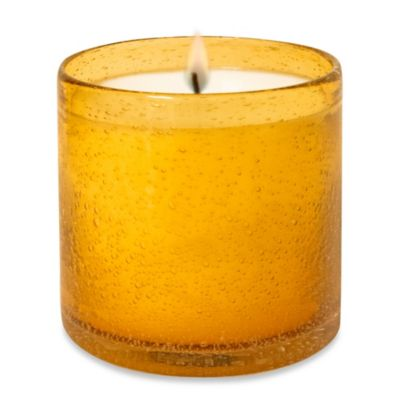 Lumiere Tropical Sands Scented Glass Candle Cup