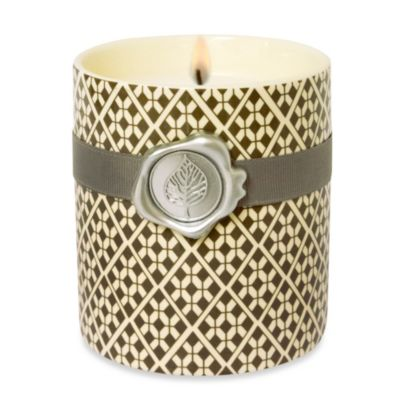 Lumiere Amber Oak Scented Diamond Candle Cup