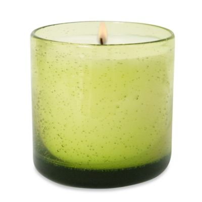 Lumiere Verbena Blossom Scented Glass Candle Cup