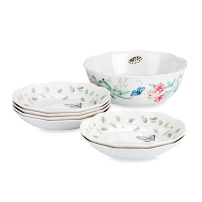 Lenox® Butterfly Meadow® 7-Piece Pasta Set