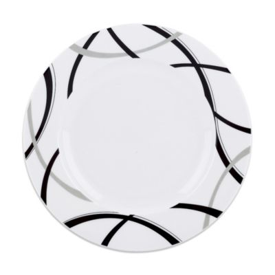 Black & Grey Accent Plate