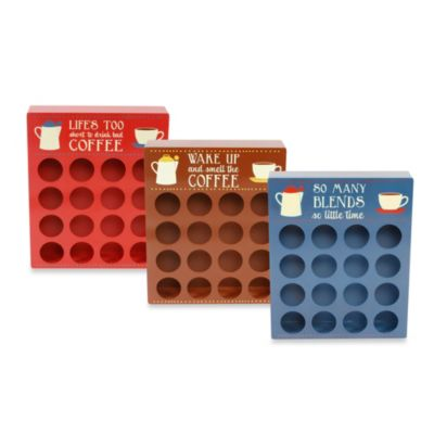 "16-Piece Single Serve Coffee ""K""eeper in Blue"