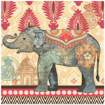 Caravan Elephants III Wall Art