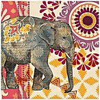 Caravan Elephants II Wall Art