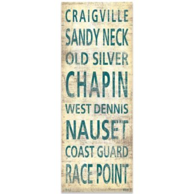 Cape Cod Places Canvas Art
