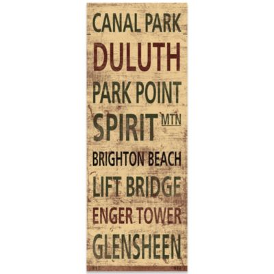 Duluth Places Canvas Art
