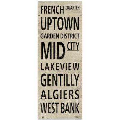 New Orleans Places Canvas Art