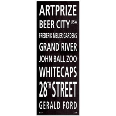 Grand Rapids Places Canvas Art
