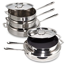 All-Clad Stainless Steel Saute Pans