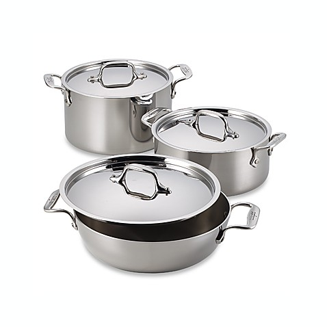 All-Clad® Stainless Steel 40th Anniversary All American 4-Quart Covered Casserole