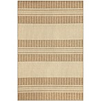 Brown Jordan Madison Stripe Rug in Neutral