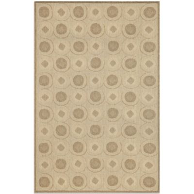 Brown Jordan Madison Tiles Rug in Neutral
