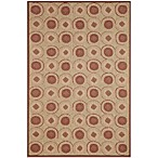 Brown Jordan Madison Tiles Rug in Sunset