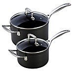 Le Creuset® Forged Hard Anodized Saucepans