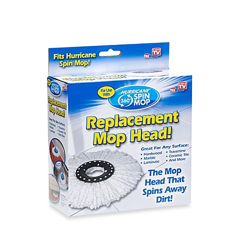 Hurricane 174 Spin Mop Replacement Mop Head Bed Bath Amp Beyond