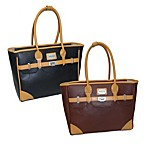 Adrienne Vittadini 12-Inch East West Laptop Tote