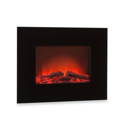 Southern Enterprises Wall Mount Electric Fireplace