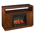Brentford Media Fireplace in Dark Tobacco