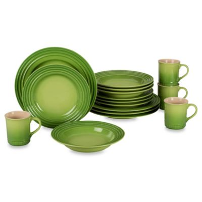 Le Creuset® 16-Piece Dinnerware Set in Palm