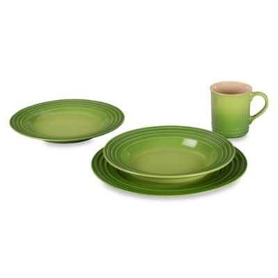 Le Creuset® 4-Piece Place Setting in Palm
