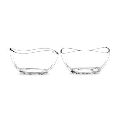 Portmeirion Ambiance Medium Glass Bowls (Set of 2)