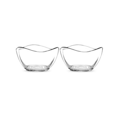 Portmerion Ambiance Small Glass Bowls (Set of 2)