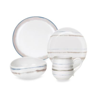 Portmeirion Ambiance 4-Piece Place Setting in Linen