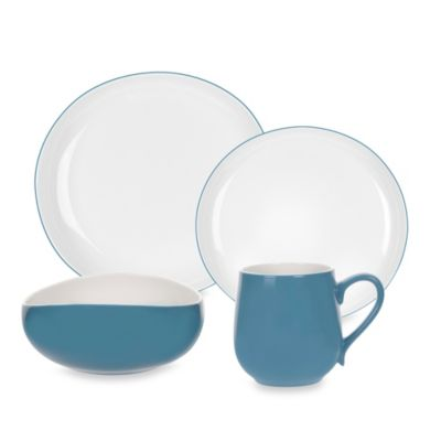 Portmeirion® Ambiance 4-Piece Place Setting in Aqua