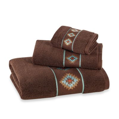 Bath Towels with Embroidery