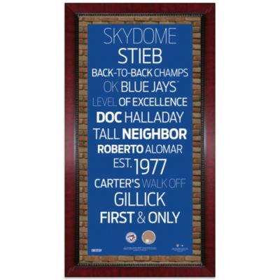 Steiner Sports16-Inch x 32-Inch Toronto Blue Jays Subway Sign Wall Art