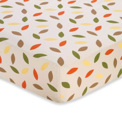 Mini Leaf Print Baby Bedding
