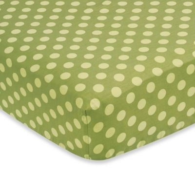 Green Dot Baby Bedding