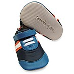Tommy Tickle Cruzer Sport Soft Leather Early Walker Shoe in Navy/Cobalt