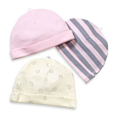 Sterling Baby Cap Set