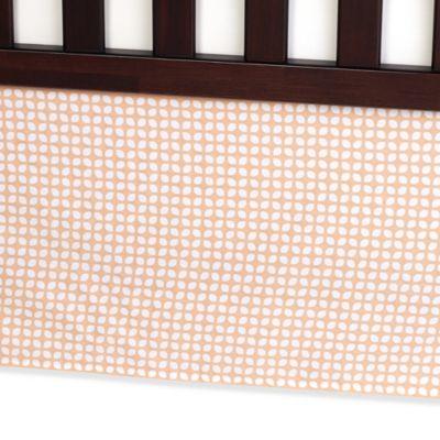 Crib Skirts > Carter's® Mix & Match Tile Crib Skirt in Orange