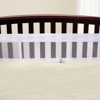 NoJo® Secure-Me Mesh Crib Liner in White