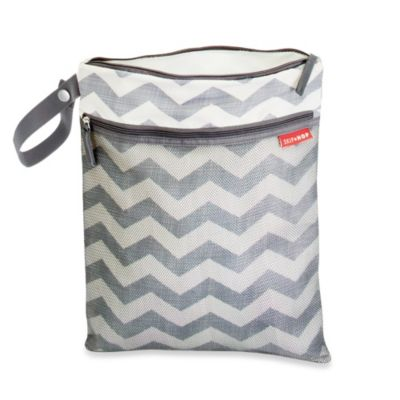 Skip Hop® Grab & Go Wet/Dry Bag in Chevron