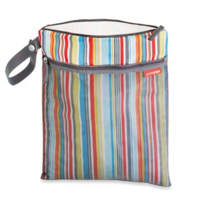 SKIP*HOP® Grab & Go Wet/Dry Bag in Metro Stripe