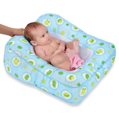 Leachco® Flipper 2-Way Baby Bather in Frog Pond