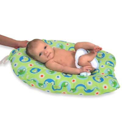 Leachco® Safer Bather Infant Bath Pad in Face the Frog