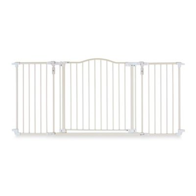 North States Deluxe Decor Gate in Linen