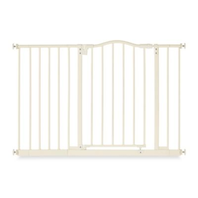 North States Wide Portico Gate in Linen