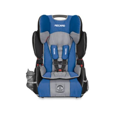 Blue Grey Car Seat