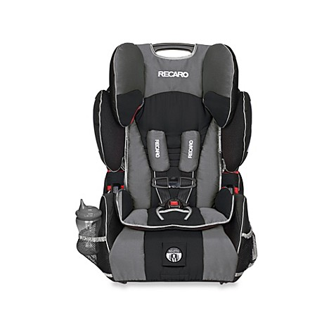 recaro performance sport booster car seat in jett. Black Bedroom Furniture Sets. Home Design Ideas