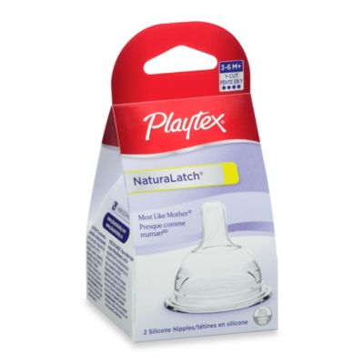 Playtex® 2-Pack Tri-Cut NaturaLatch® Nipples