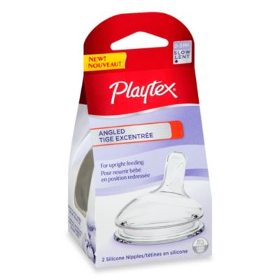 Playtex® 2-Pack Slow Flow Angled Nipples