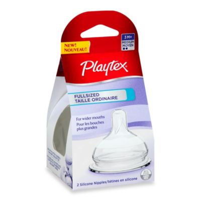 Playtex® 2-Pack Medium Flow Full-Sized Nipples