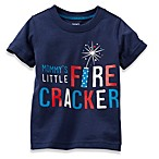 Carter's Mommy's Little Firecracker T-Shirt in Navy