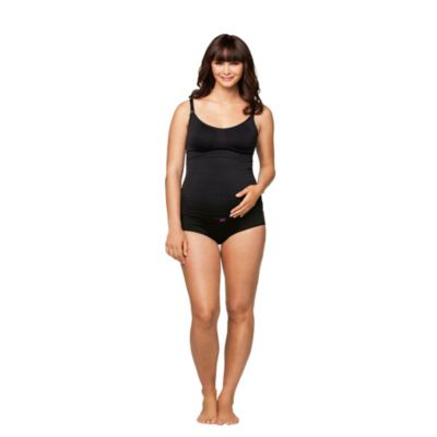 Cake Lingerie Extra-Large Maternity Nursing Tank in Dark Toffee